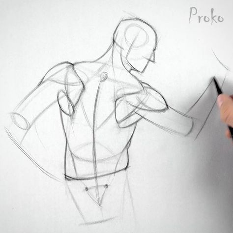 Still having problems drawing the shoulders? Learn to invent the shoulder muscles by watching the entire lesson at proko.com/129