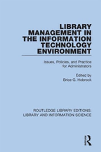 Library Management In The Information Technology Environmen Library Management In The Information Technology Environmen Information Technology Practici V 2020 G