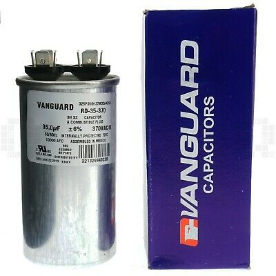 Ad Ebay Url Vanguard Rd 35 370 Electric Motor Run Capacitor 35 Uf 370 Vac 50 60hz Electric Motor Things To Sell Capacitor