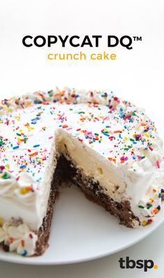 The 50 Most Delish Ice Cream Cakes Cream cake Brownies and Cake