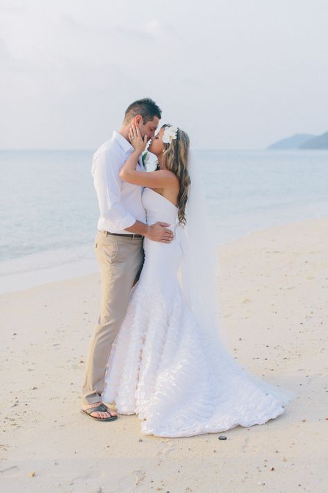 Beach <3. Thailand Wedding from Corbin Gurkin | corbingurkin.com, Read more - http://www.stylemepretty.com/2013/06/14/thailand-wedding-from-corbin-gurkin/