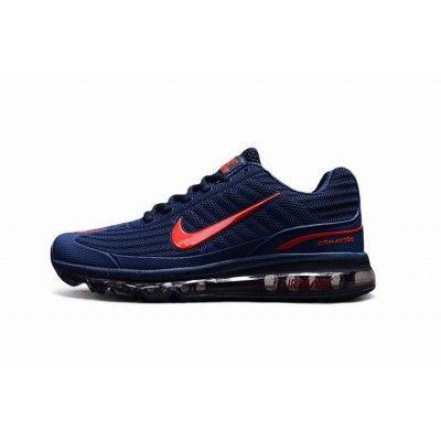 nike air max 2015 blauw rood