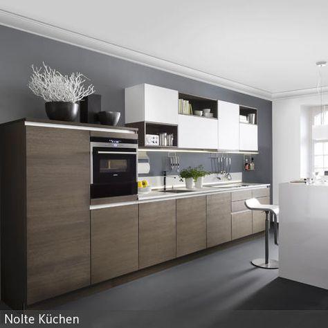 grifflose Küche | Nolte Küchen | Küche | Pinterest | Nolte küchen ...