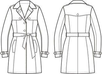 grafica disegni cappotto uomo