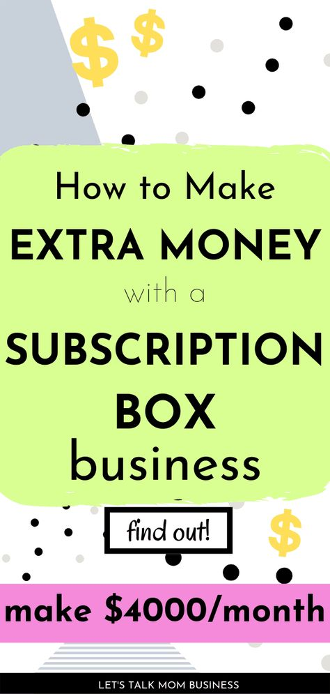 Start A Business From Home, Work From Home Moms, Online Business, Earn Money From Home, How To Make Money, Subscription Boxes For Kids, Investment Tips, Easy Work, Work From Home Opportunities