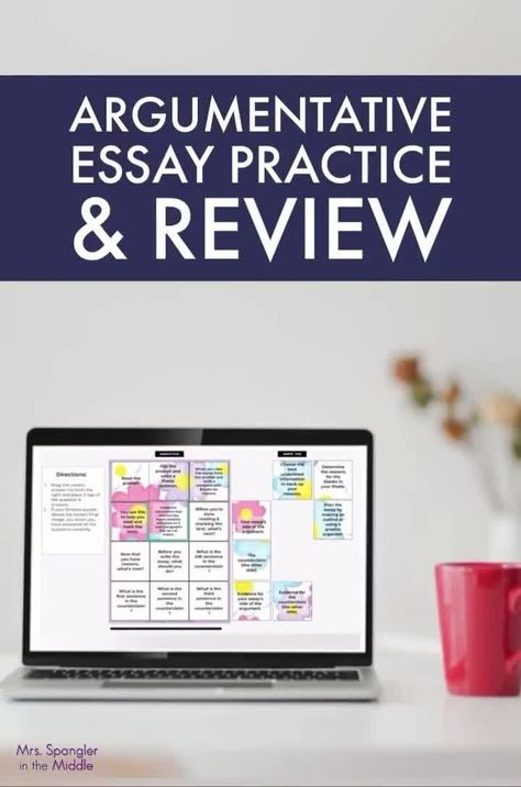 Argumentative Essay Review Practice