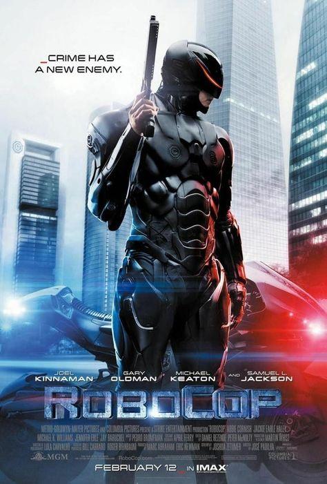 RoboCop film movie cinema metal tin sign poster