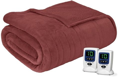 Beautyrest Microlight To Berber Heated Blanket Heated Blanket