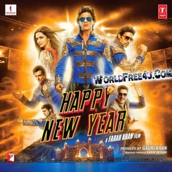 Free Download Happy New Year 2014 Full Hindi Movie 300mb Brrip 480p Happy New Year Movie Happy New Year Bollywood New Year Movie