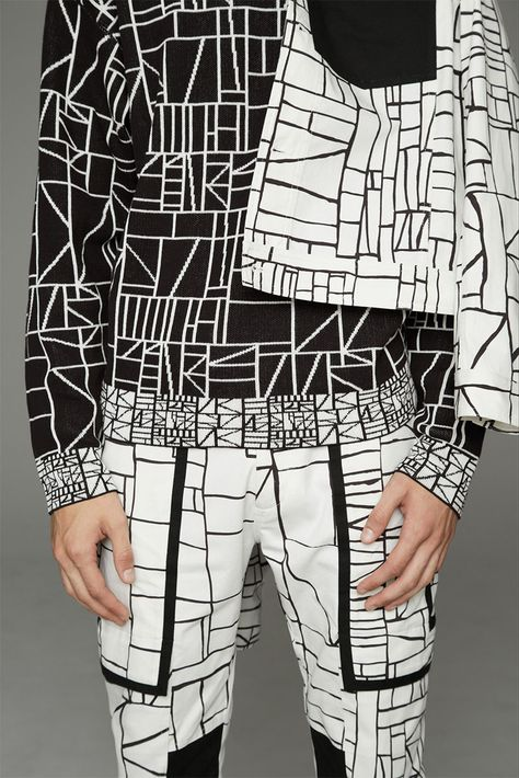 Opening Ceremony Spring 2014 Menswear Fashion Show fashion and white