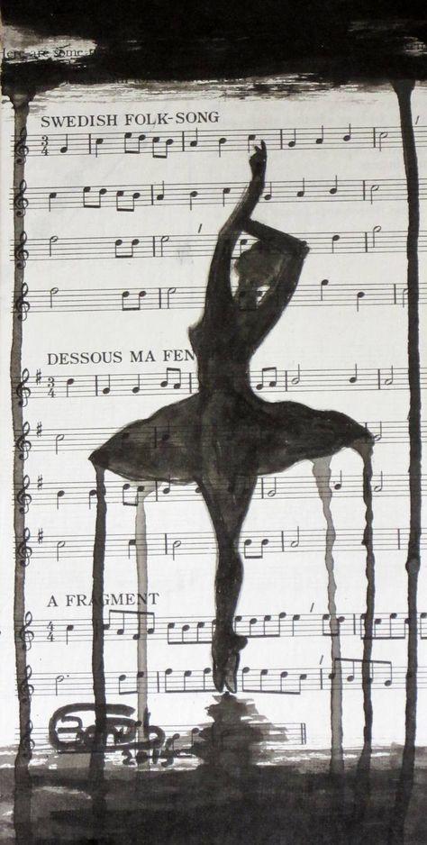 "Saatchi Art Artist Banu Beyza; Drawing, ""Ballet Dancer 3"" #art"