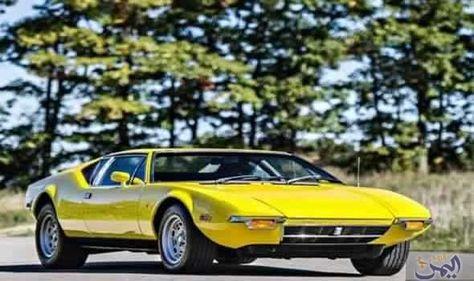 بيع سيارة بانتيرا 1972 النادرة داخل مزاد بـ180 ألف دولار Bmw Car Bmw Car