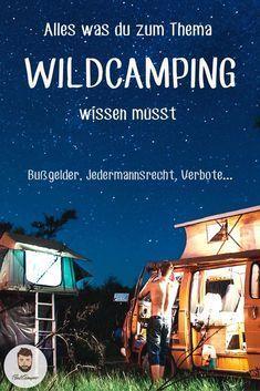 Wildcamping In Europa Wo Ist Es Erlaubt Wildcamping Camper Leben Camping