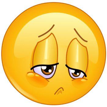 Bad news just came this emoji's way