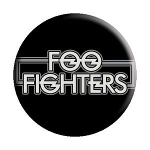 FOO FIGHTERS (NEW LOGO) BUTTON