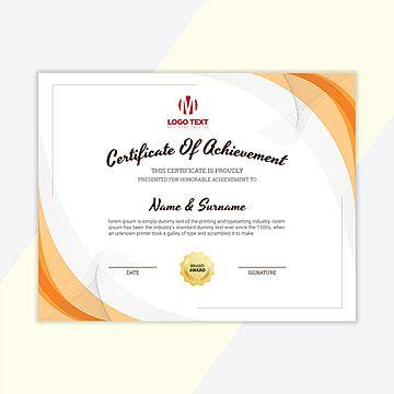 شهادة تقدير قالب Certificate Of Appreciation Award Template Certificate Templates