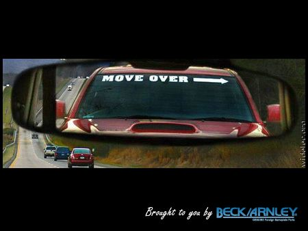 The lower class small-large windscreen funny novelty custom sticker