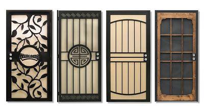 The Security Door Is A Necessity Today Not Luxury Whether Your Neighborhood Is Prone To Break In Or Not It Is Security Door Security Screen Door Screen Door