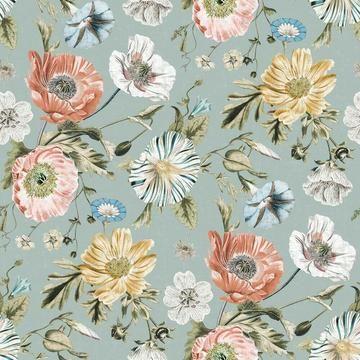Vintage Poppy Peel And Stick Wallpaper In 2021 Peel And Stick Wallpaper Poppy Wallpaper Vintage Floral Wallpapers