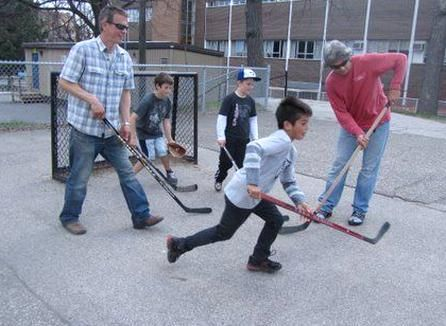 Boys Playing Street Hockey In 2020 Street Hockey Boys Playing Boys