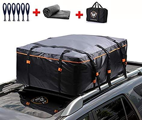 Amazon Com Waterproof Rooftop Cargo Carrier Pro Heavy Duty Roof Top Luggage Storage Bag With Anti Slip Mat In 2020 Luggage Storage Bag Cargo Carrier Cargo Carriers