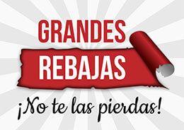 aa55485c87d3 Cartel imprimible grandes rebajas #Rebajas #Comercios #Pymes ...