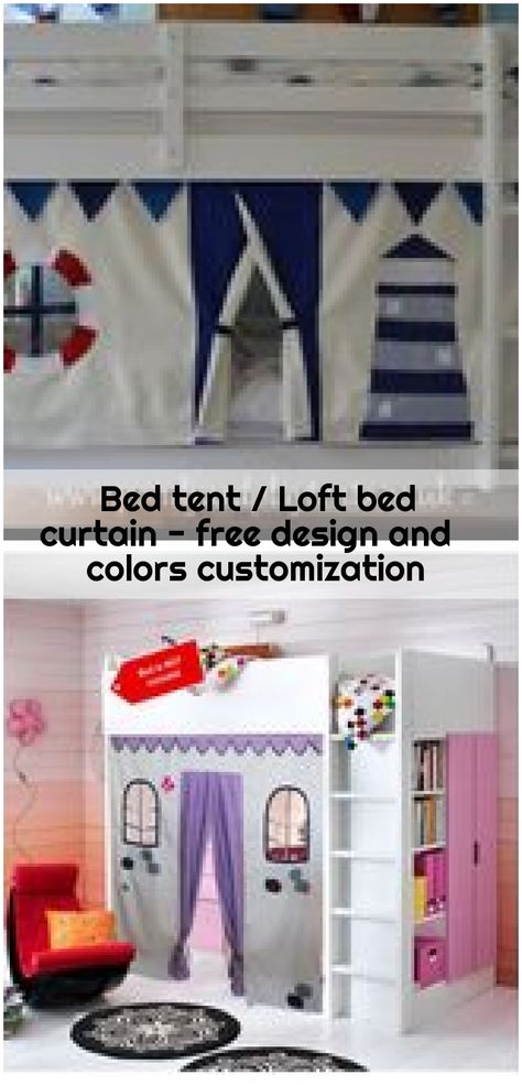 Bettzelt Hochbett Vorhang Freie Gestaltung Und Farbanpassung