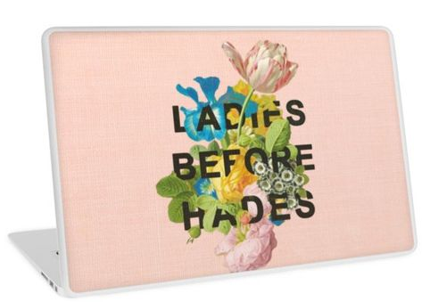 """Ladies before hades"" Laptop Sticker"