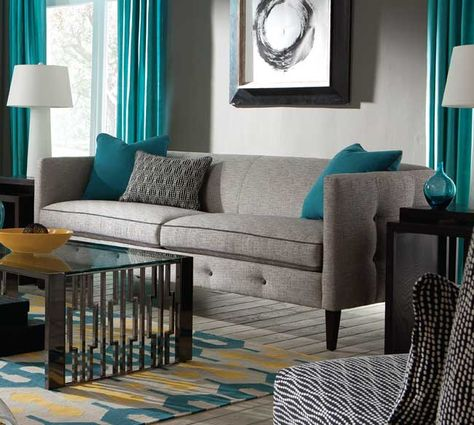 Loving This Rowe Claire N760 Sofa Collection I Recently Purchased From Larrabee S Furniture Design In Denver Co
