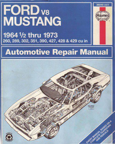 Ford Mustang V8 1964 Thru 1973 Automotive Repair Manual Pdf Manual Https Original Manuals Ecrater Com P 3219 Ford Mustang V8 Ford Mustang Automotive Repair