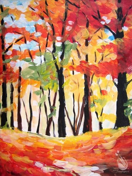 Painting With A Twist Painting Wine And Canvas Painting Class