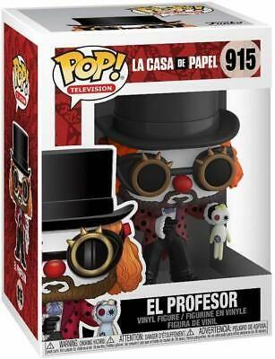 Funko Pop Televisions 915 La Casa de Papel 44196 El Profesor