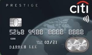 Citi Prestige credit Card | Citibank prestige card Login