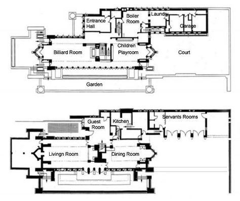 robie house chicago plan Google da Ara