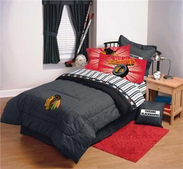 pretty nice 1c8a1 fe57b CHICAGO BLACKHAWKS NHL Hockey Bedding and Accessories ...