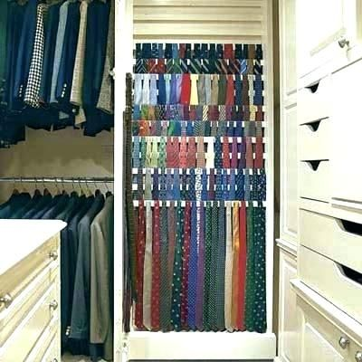 Wall Mounted Tie Organizer Tips Terrific