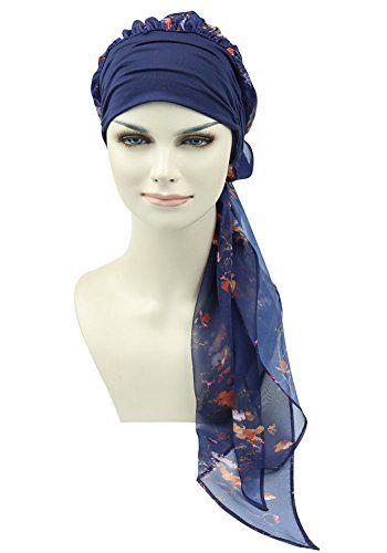 Chemo Headwear Turban Scarves Pre Tied Head Wraps Bandana Https Www Amazon Com Dp B077cpvfss Ref Cm S Chemo Headwear Cancer Hats Head Coverings Head Scarf
