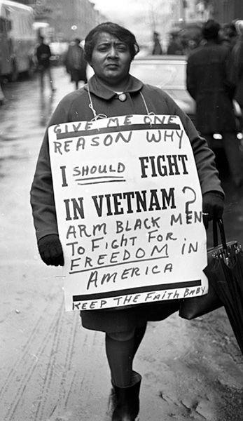 Anti Vietnam Protest Ny 1960s Artist Leroy Henderson Vietnam Protests Leroy Keep The Faith