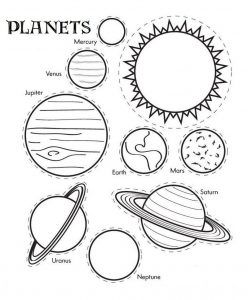 Complete Solar System Coloring Pages To Print Solar System