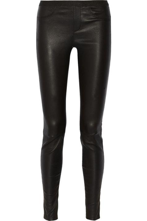 Helmut Lang – Stretch-leather leggings