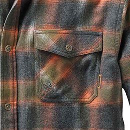 Legendary Whitetails Men/'s Archer Thermal Lined Flannel Shirt Jacket