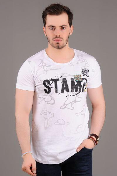 Erkek Tisort Stamp Baskili Beyaz T Shirt Dugun Bayan Elbise Etnik Spor Sik Salas Fashion Modern Bayangiyim Tesettur Buti Erkek Tisort Moda Tisort