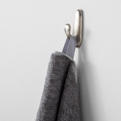Solid Bath Towel Dark Gray Made By Design In 2020 Hanging Bath