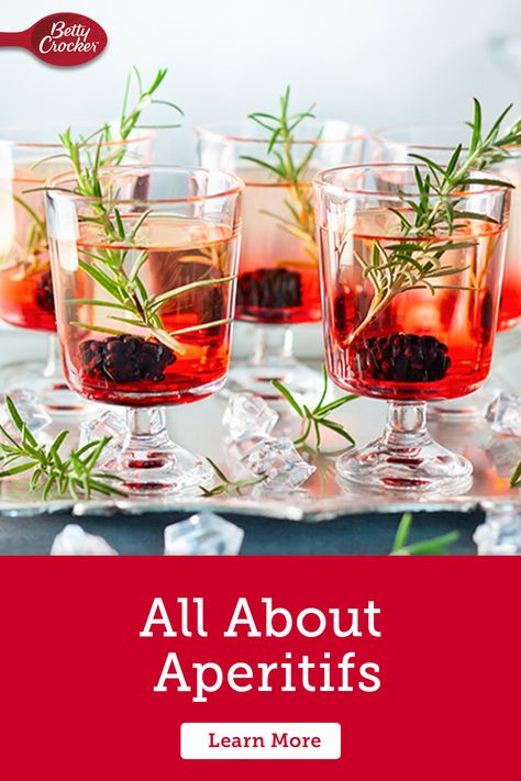 Learn about What is an Aperitif? and why they should be served prior to your meal! Pin today for aperitif inspiration.