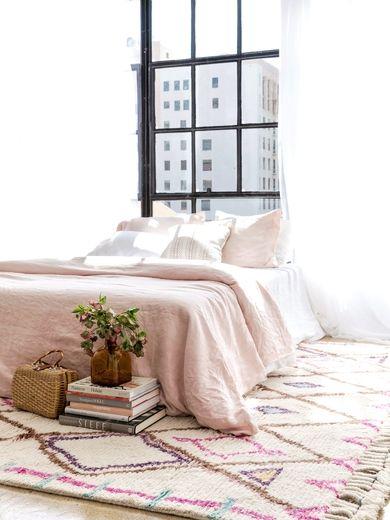 Niama Moroccan Shag Rug   Home decor in 2019   Girly bedroom ...