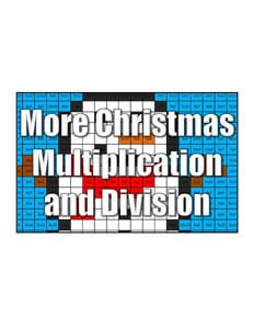 holiday multiplication and division coloring squared