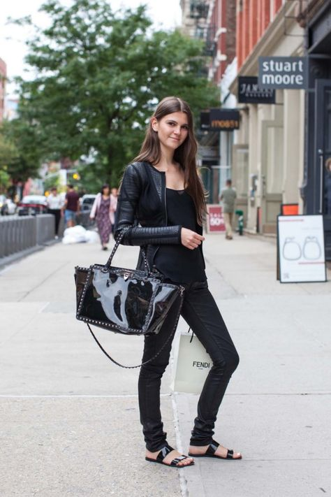 Street style from New York August 2014