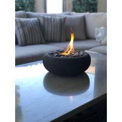 Roxbury Steel Propane Tabletop Fireplace Tabletop Fireplaces Tabletop Firepit Fire Pit
