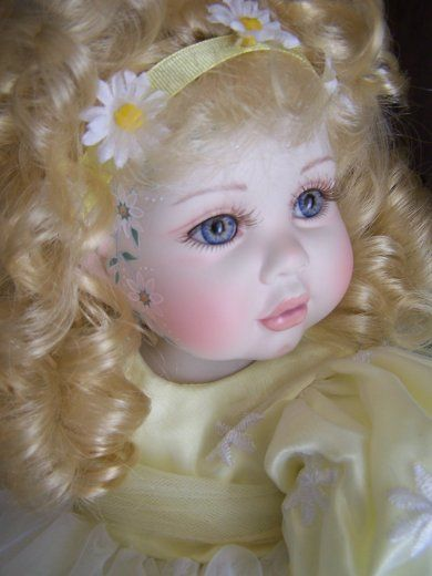 Marie Osmond Doll, Daisyetta, sculpted by Karen Scott