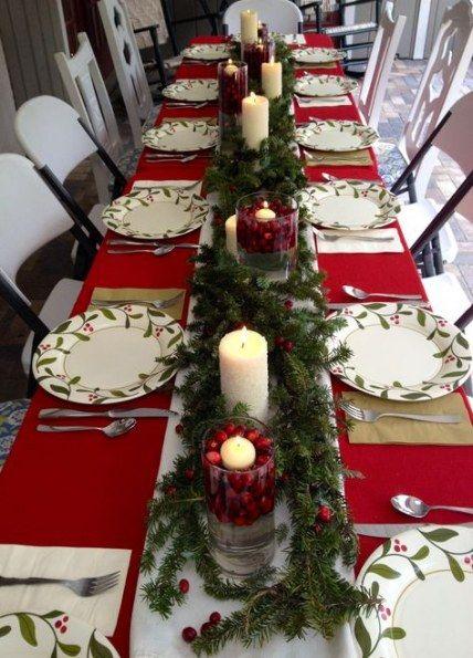 Breakfast Table Setting Ideas Decor Plates 49 Ideas Christmas Table Centerpieces Christmas Decorations Dinner Table Christmas Table